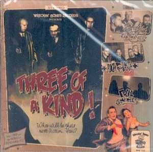 VARIOUS ARTISTS : : THREE OF A KIND