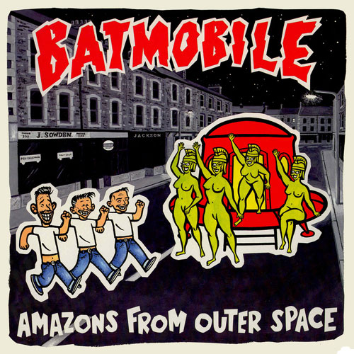 BATMOBILE : Amazons from outer space