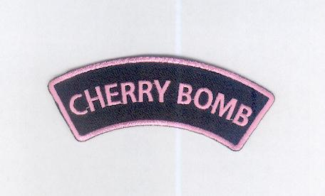 Cherry Bomb Patch :