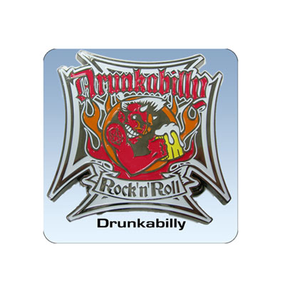 Drunkabilly buckle :
