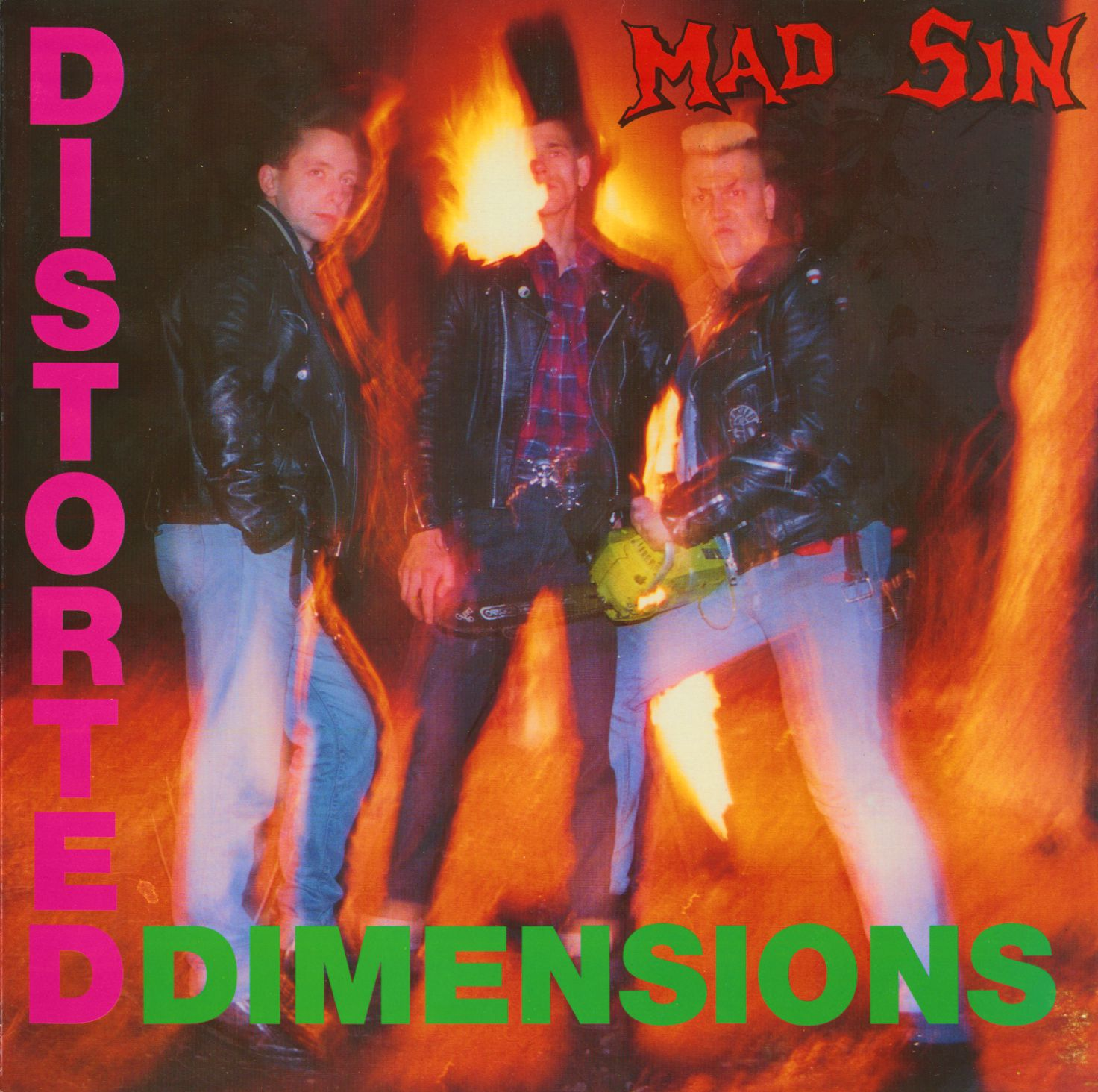 MAD SIN : Distorted Dimensions