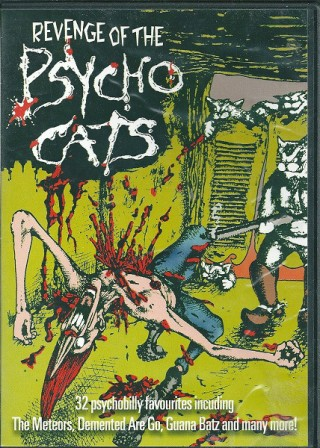 REVENGE OF THE PSYCHO CATS : Various Artists