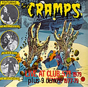 CRAMPS, THE : Live At Club 57! (1979)
