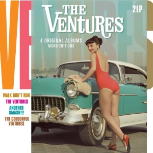 THE VENTURES: 4 ORIGINAL ALBUMS (MONO EDITION