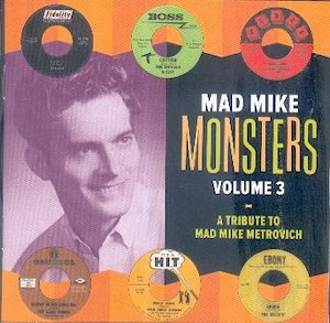 VARIOUS ARTISTS: MAD MIKE MONSTERS VOL .3