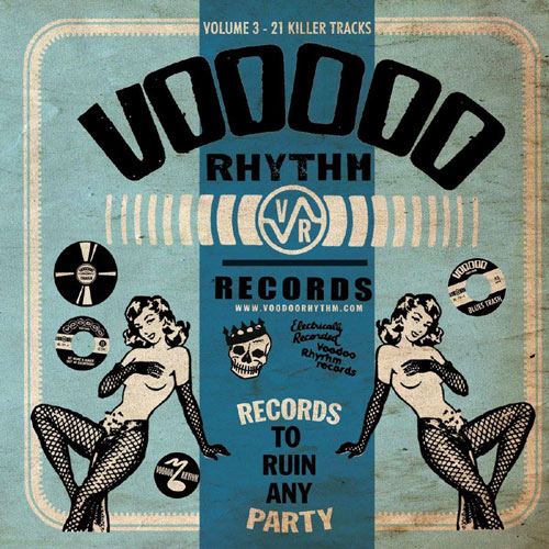VOODOO RHYTHM COMPILATION : Volume 3