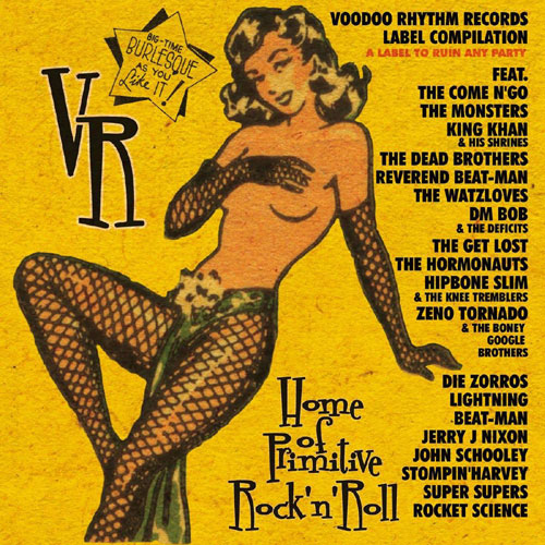 drunkabilly records mailorder voodoo rhythm label compilation